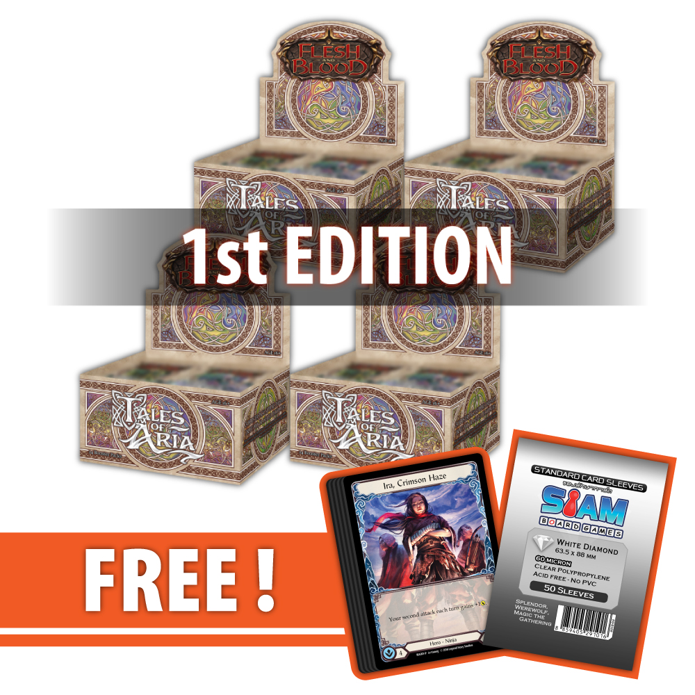 Tales of Aria (First Edition) – Booster Case [4 Boxes]