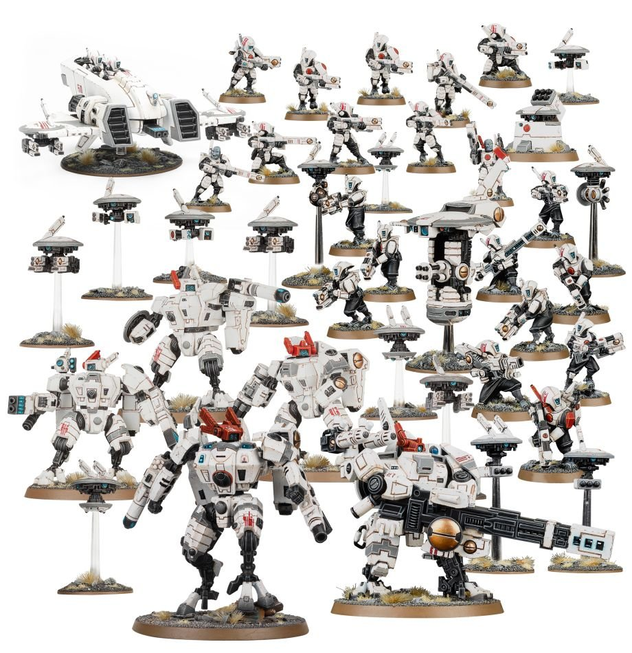 T'au Empire Battleforce – Starpulse Cadre
