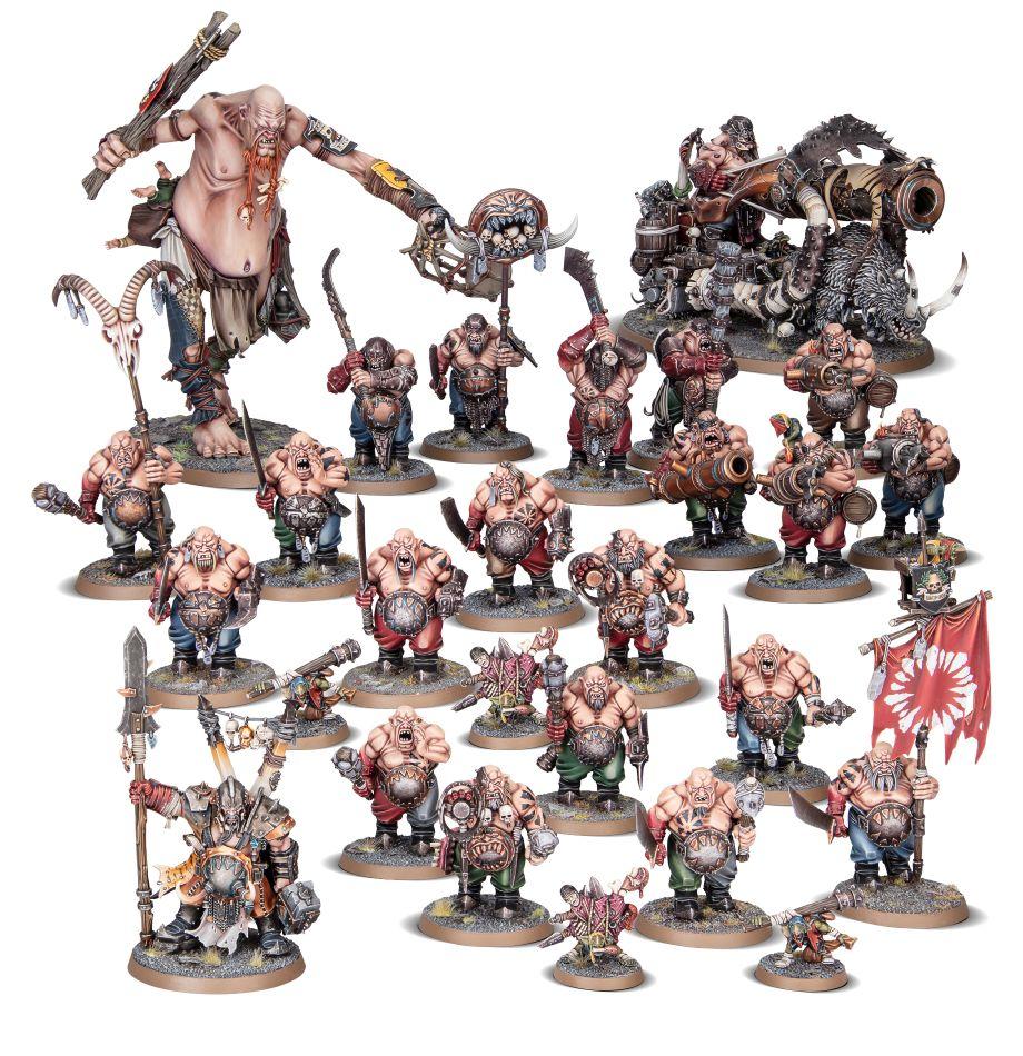 Ogor Mawtribes Battleforce – Meatgrinder Warglutt