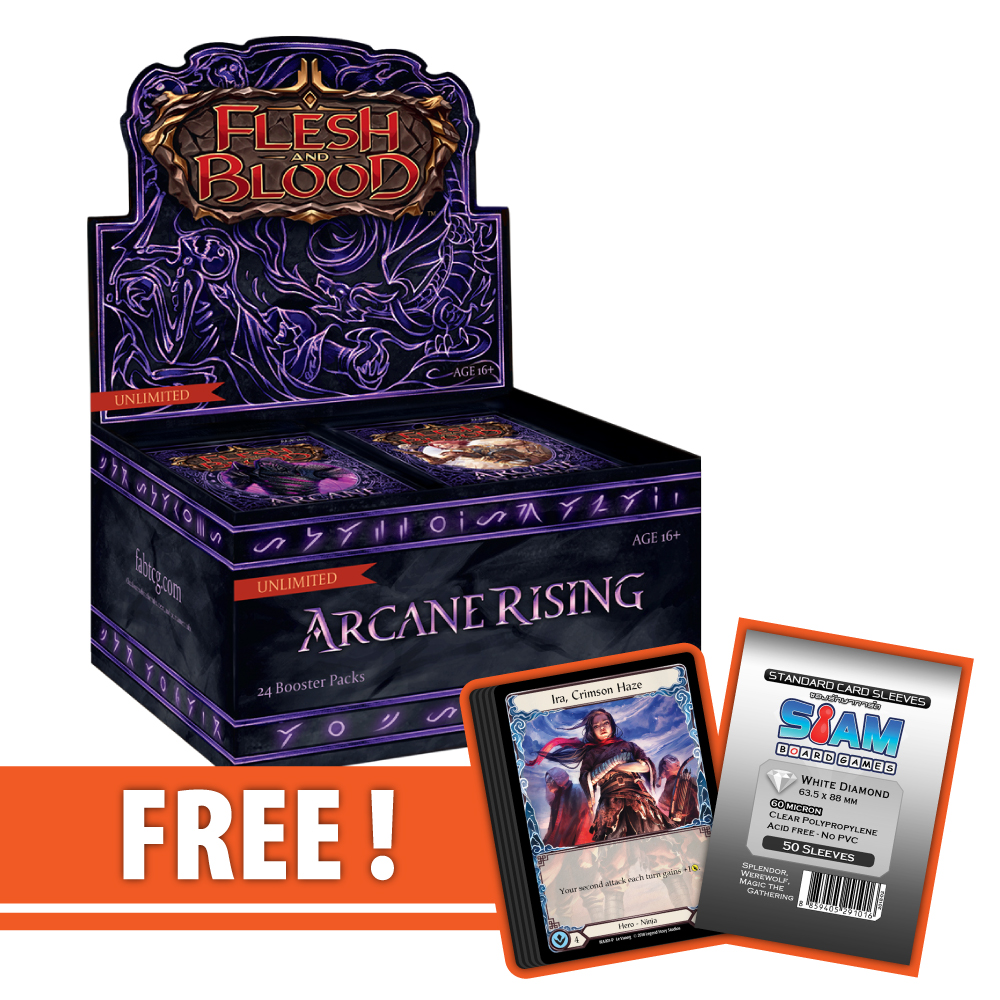 Arcane Rising (Unlimited) – Boosters Box