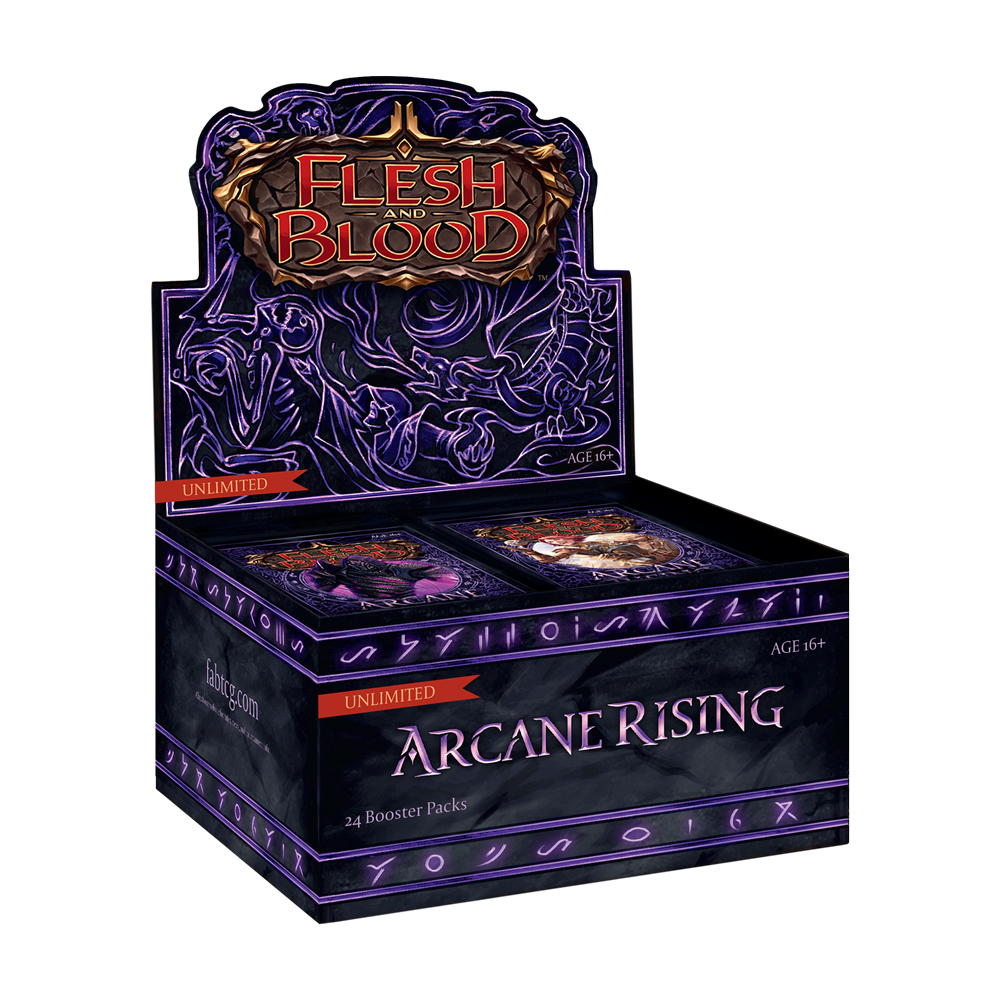Arcane Rising Unlimited – Boosters Box