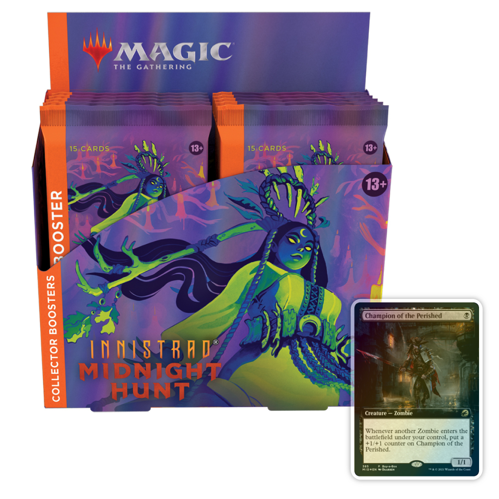 Innistrad: Midnight Hunt – Collector Booster Box