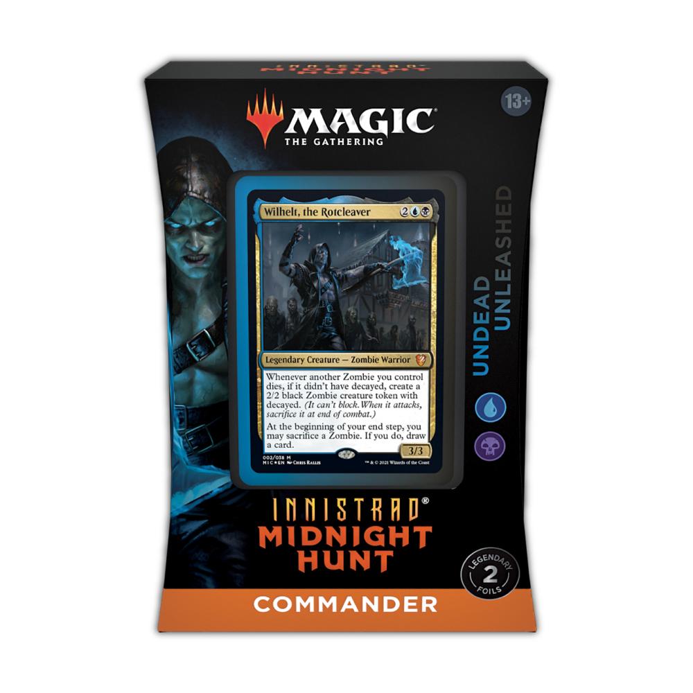 Innistrad: Midnight Hunt Commander Deck – Undead Unleashed (Blue-Black)