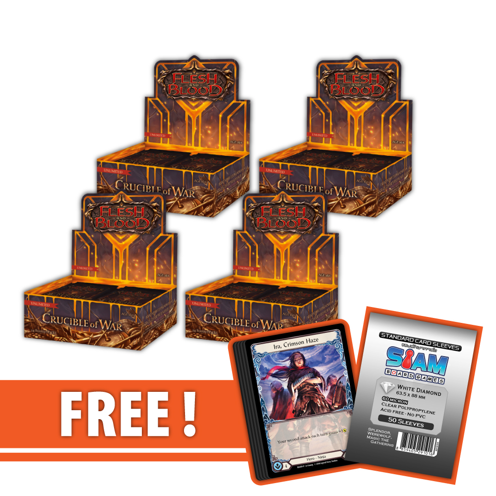 Crucible of War (Unlimited) – Booster Case [4 Boxes]
