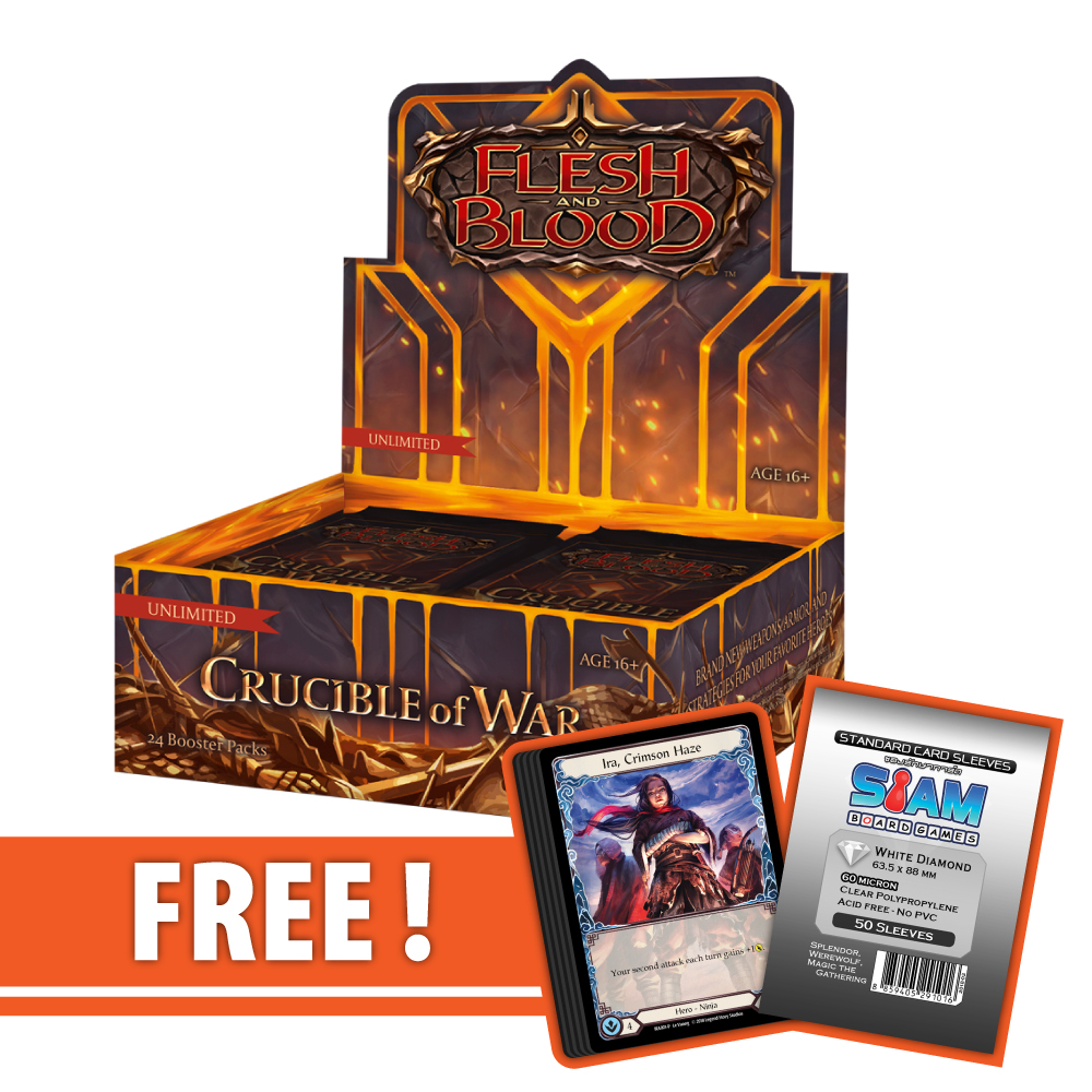 Crucible of War (Unlimited) – Boosters Box