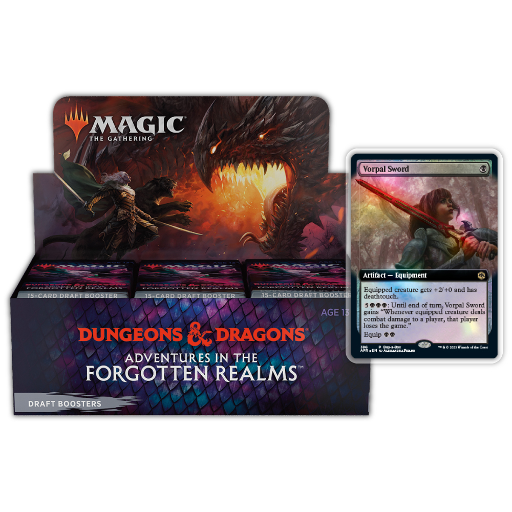 Adventures in The Forgotten Realms: Draft Booster Box