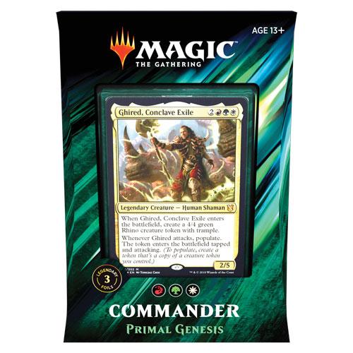 Commander 2019: Primal Genesis
