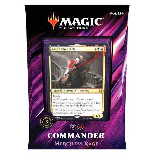 Commander 2019: Merciless Rage