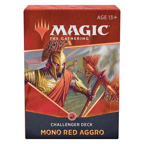 Challenger Deck 2021 – Mono Red Aggro