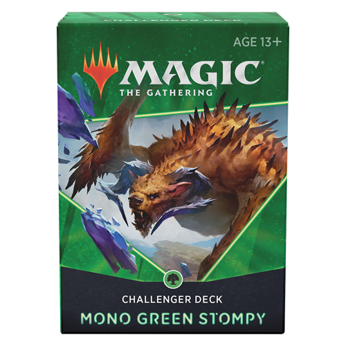 Challenger Deck 2021 – Mono Green Stompy