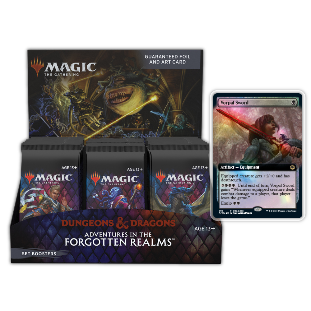 Adventures in The Forgotten Realms: Set Boosters Box