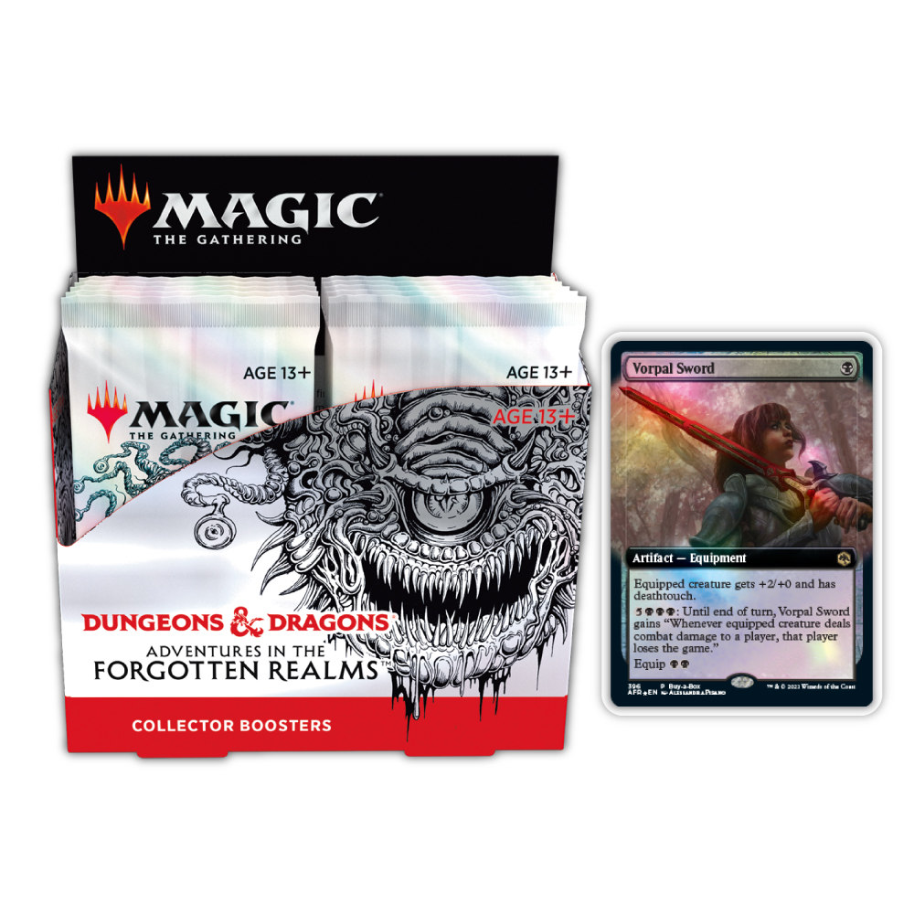 Adventures in The Forgotten Realms: Collector Boosters Box