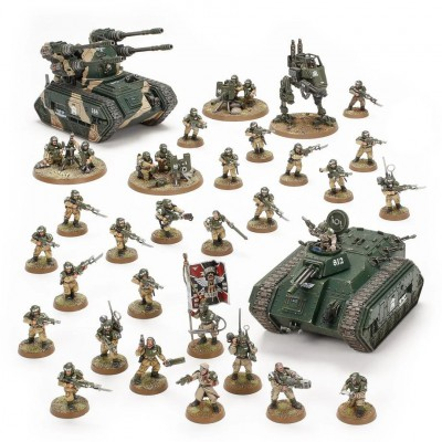 Astra Militarum: Battleforce – Bastion Platoon