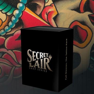 Secret Lair: Full Sleeves: the Tattoo Pack