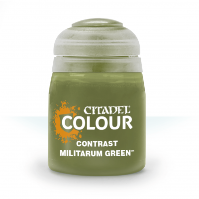 Contrast: Militarum Green
