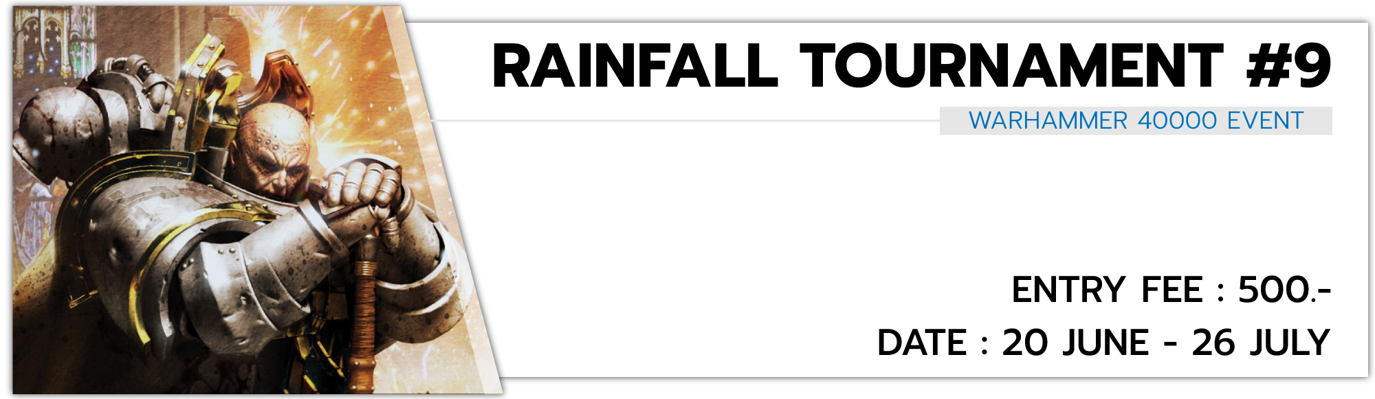 Warhammer 40,000: Rainfall Tournamet#9
